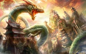 Dragon Attack Walpaper by deaload