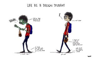 Life As A Design Student by sfdesignproject