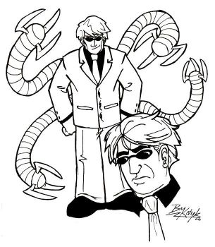Doctor Octopus by bryesque