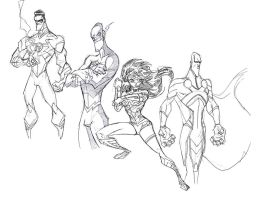 PIXAR JUSTICE LEAGUE by cheetor182