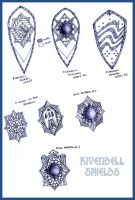 Rivendell Shields by Merlkir