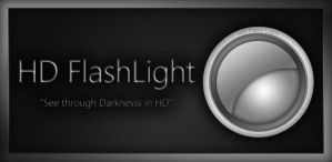 HD Flashlight Android App by moschdev