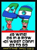 49 #canuck wins - 06 in a row- #01 in West Conf by tony-p-power