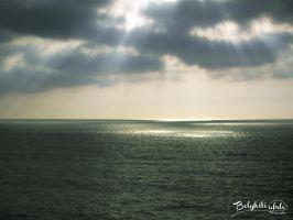 Light on the sea by Belghiti