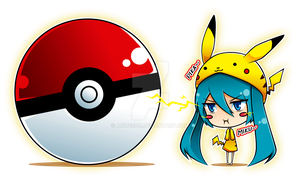 Mikuchu Bookmark by Aniteen9