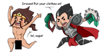 Draven! No! by Analphaking
