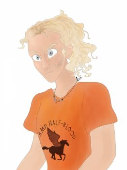 Annabeth Chase by Halukiforces
