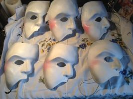 Phantom of the opera masks,London by stephantom53