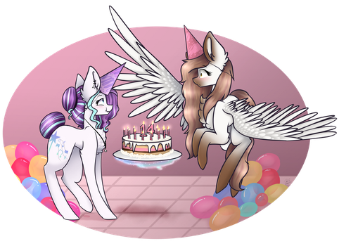 Happy Birthday! - Gift by MagicalBrownie