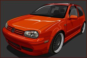 VW Golf by m4gnus