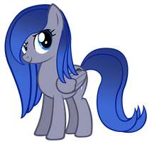 Aura in a Cool Pose by ScisoHaelora