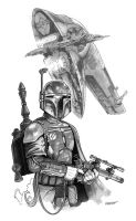 Boba Fett by joewight