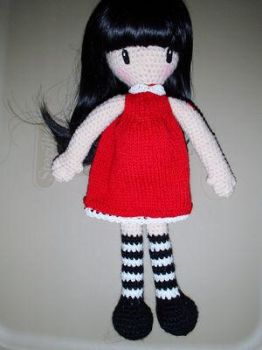 Gorjuss Amigurumi girl by Simnut