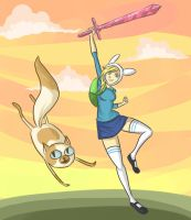 AT - Fionna and Cake by cinash
