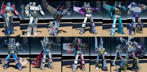 The Transformers - Render Test by GeneralSoundwave