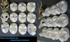 Resin Masks we offer by DreamVisionCreations