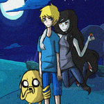 finn, jake and marceline by brittanyduoser