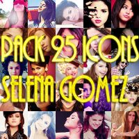 Pack 25 icons Selena Gomez by CantBeTamedMC