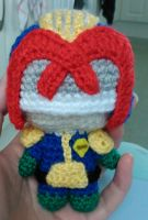 Mini Judge Dredd Amigurumi by Anaseed