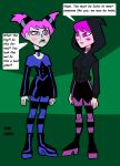 Jinx, meet your twin. by VectorMagnus2011