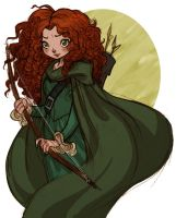Princess Merida by hanime87