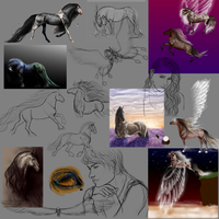Stuff I never finished/posted- scraps by Vizseryn