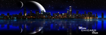 Moon Over Chicago by Carrie56
