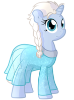 Elsa pony by furrgroup