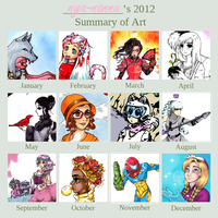 Art of 2012 by nya-nannu
