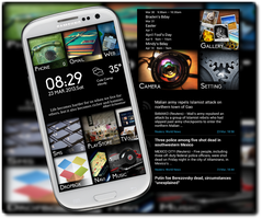 PLQ's Tiles and Tiles on my S3 by gwcaton