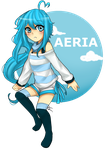 Chibi PC: Aeria by Yunisaki