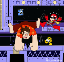 Ralph in Mega Man 10 by Reallyfaster