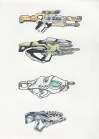 Mass Effect Weapons 1 by ninboy01