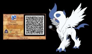 Pokemon OR/AS Secret Base QR Code by WolfSpirit07