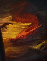 Smaug by Artsed