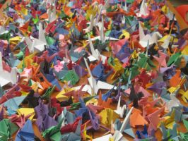 Another 1000 cranes by Path-of-Sendo