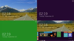 Windows 8 Lock Screen by YEKMYK