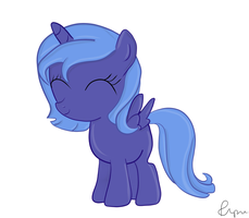 Filly Luna by fipse
