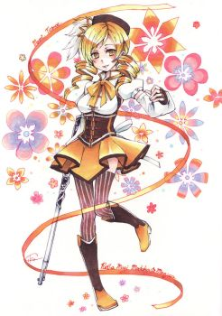 Mami Tomoe by cika