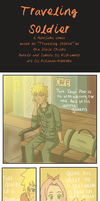 NaruSaku songcomic: Traveling Soldier by Kitsunena