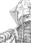 Kisame Hoshigaki pencils by Fasleth101