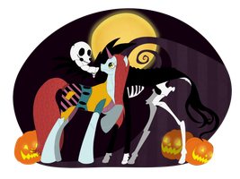 My Little Jack and Sally by chiky5300