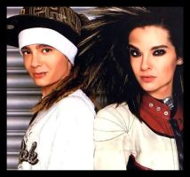 Bill et Tom Kaulitz by Maybelline22