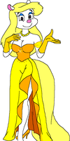 Minerva's Yellow Gown by tpirman1982