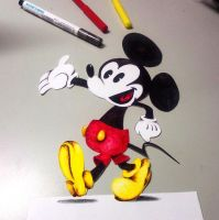 Mickey Mouse by NKhope