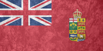 Canada ~ Grunge Flag (1868 - 1921) by Undevicesimus