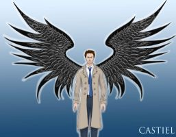 Castiel by Rawrsome101