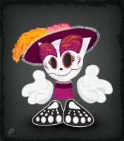 Fella as La Catrina by Suxius