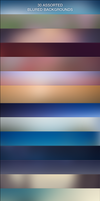 30 Assorted Blur Backgrounds by messinmotion
