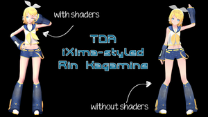 TDA iXima-styled Rin Kagamine Download by segawa2580
